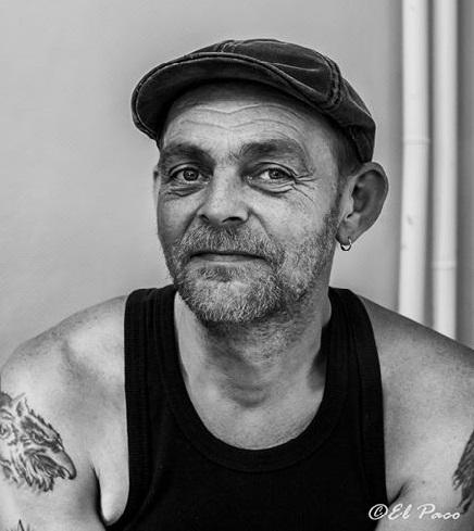 Eric Legrand portrait el Paco